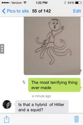 hitler squid